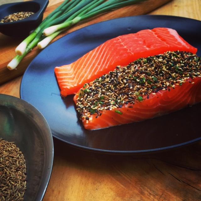 Cravings, salmon & sesame