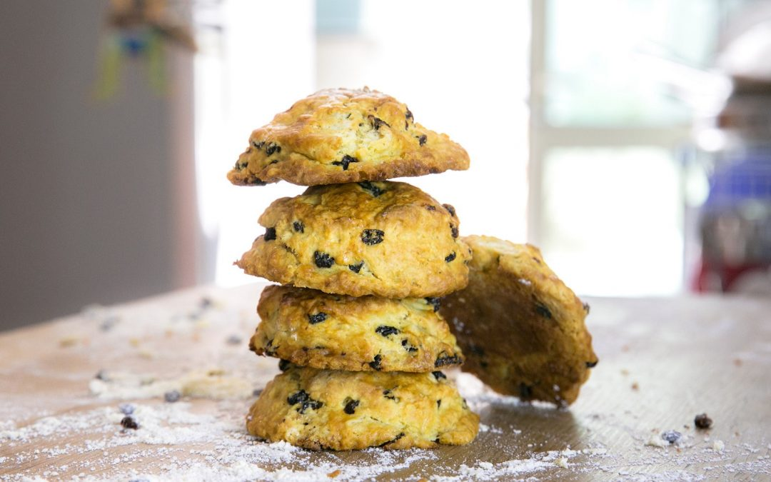 I got it from my mama! A Mother's Day post & a currant scone recipe