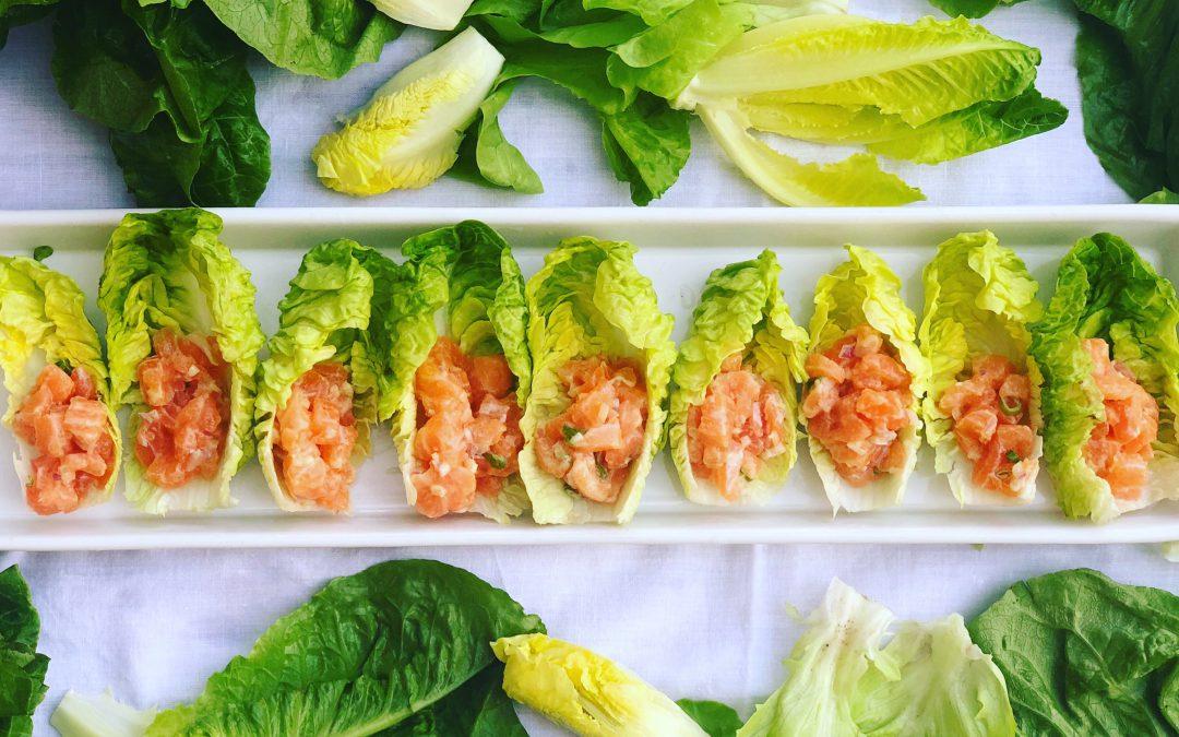 An Easy Salmon Tartare Recipe