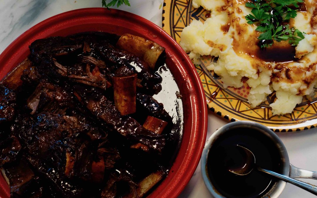 Sticky Date Braised Beef Short Ribs