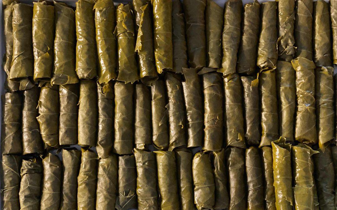 Vegetarian Stuffed Vine Leaves